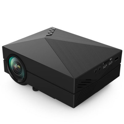 GM60 LCD Projector 1000LM 800 x 480 Pixels Portable 1080P Multimedia Player