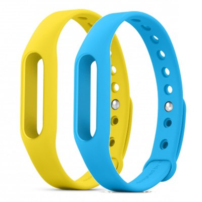 2PCS Original  Xiaomi Miband / 1S Rubber Watch Band Strap