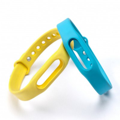 Original Xiaomi Miband / 1S Rubber Watch Band StrapSmart Watch Accessories<br>Original Xiaomi Miband / 1S Rubber Watch Band Strap<br><br>Type: Smart watch / wristband band<br>Vailable brand: Xiaomi<br>Material: Rubber<br>Color: Blue,Green,Orange,Yellow,Plum<br>Product weight: 0.013KG<br>Package weight: 0.043 KG<br>Product size (L x W x H): 23.00 x 1.40 x 0.90 cm / 9.06 x 0.55 x 0.35 inches<br>Package size (L x W x H): 24.00 x 1.50 x 1.90 cm / 9.45 x 0.59 x 0.75 inches<br>Package Contents: 1 x Xiaomi Miband Watch Band