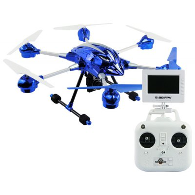 HUAJUN W609 - 8 5.8G FPV Pathfinder 2 6 Axis Gyro 4.5CH 2.4G RC Hexacopter with 2.0MP HD Camera