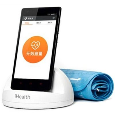 Original Xiaomi iHealth Smart Blood Pressure Dock Monitor Monitoring System for Xiaomi Redmi 2S 3 4 - Chinese Version