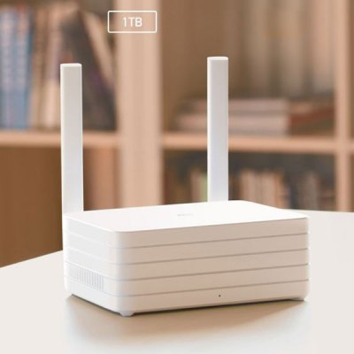 All-new XiaoMi Mi WiFi Router with 1TB Storage Hard Disk