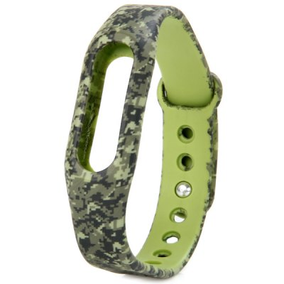 TPU Band Digital Camouflage Watch Strap
