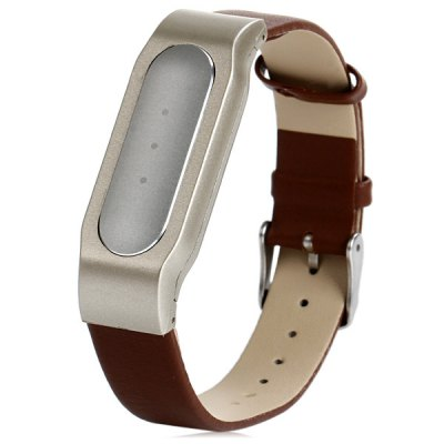 Leather Watch Band Anti-lost Design Strap