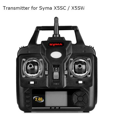 Remote Controller 2.4G RC Transmitter for Syma X5SC / X5SW / X5C / X5C - 1 Quadcopter