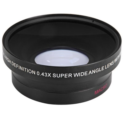 67mm 0.43X Super Wide Angle Macro Lens