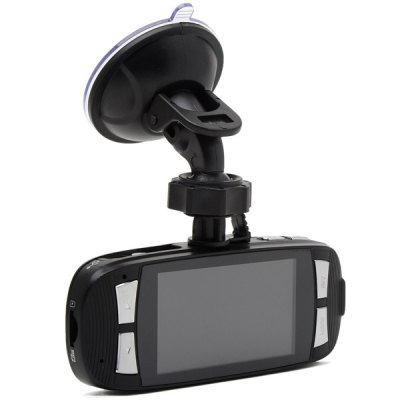 G1W-CB Full Black 2.7 inch 1080P Full HD Car DVR 4X Digital Zoom Video Recorder 120 Degree Wide Angle Lens with Charger  (Safe Capacitor)