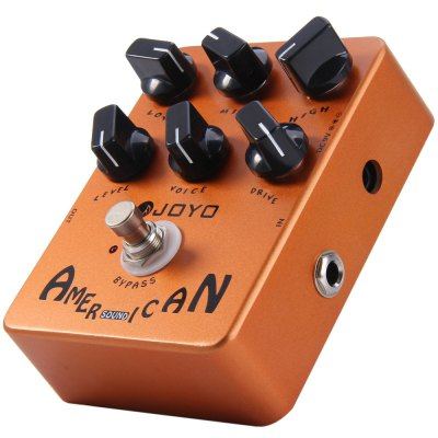 JOYO JF - 14 True Bypass Design American Sound Amp Simulator Electric Guitar Effect Pedal with 6 Adjustable KnobsGuitar Parts<br>JOYO JF - 14 True Bypass Design American Sound Amp Simulator Electric Guitar Effect Pedal with 6 Adjustable Knobs<br><br>Package Contents: 1 x JOYO JF - 14 American Sound Guitar Effect Pedal<br>Package size (L x W x H): 13 x 10.2 x 6.1 cm / 5.11 x 4.01 x 2.40 inches<br>Package weight: 0.500 kg<br>Product size (L x W x H): 12 x 9 x 5.5 cm / 4.72 x 3.54 x 2.16 inches<br>Product weight: 0.433 kg