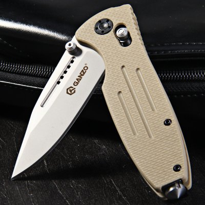 Ganzo G702 - Y Pocket Axis Locking Foldable 440C Blade Camping Hunting Knife with Glass HammerPocket Knives and Folding Knives<br>Ganzo G702 - Y Pocket Axis Locking Foldable 440C Blade Camping Hunting Knife with Glass Hammer<br><br>Blade Edge Type: Fine<br>Blade Length: 8.5 cm / 3.35 inches<br>Blade Material: Stainless Steel<br>Blade Width : 2.7 cm / 1.06 inches<br>Brand: GANZO<br>Fold Length: 11.8 cm / 4.65 inches<br>For: Adventure, Home use, Daily Use, Hiking, Camping, Climbing<br>Lock Type: Axis Lock<br>Material: Blade: 440C stainless steel<br>Package Contents: 1 x GANZO G702-B Foldable Knife<br>Package size (L x W x H): 13.4 x 6.0 x 3.7 cm / 5.27 x 2.36 x 1.45 inches<br>Package weight: 0.175 kg<br>Product size (L x W x H): 11.8 x 3.2 x 2.0 cm / 4.64 x 1.26 x 0.79 inches<br>Product weight: 0.139 kg<br>Type: Multitools<br>Unfold Length: 20.5 cm / 8.07 inches
