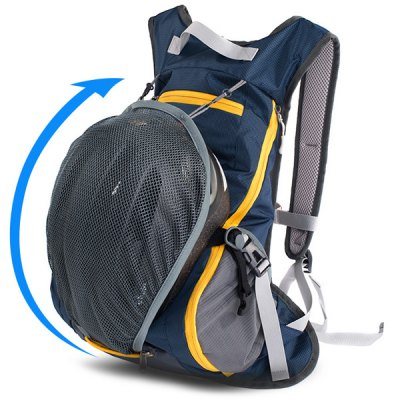 Naturehike 15L Dual Shoulder Backpack for Outdoor Cycling / Travelling / HikingBackpacks<br>Naturehike 15L Dual Shoulder Backpack for Outdoor Cycling / Travelling / Hiking<br><br>Bag Capacity: 15L<br>Brand: NatureHike<br>Capacity: 11 - 20L<br>Color: Black,Cadetblue,Orange,Rose Red,Sky blue<br>For: Climbing, Cycling, Casual, Other, Sports, Traveling, Hiking<br>Material: Nylon<br>Package Contents: 1 x Cycling Backpack<br>Package size (L x W x H): 56.00 x 36.00 x 26.00 cm / 22.05 x 14.17 x 10.24 inches<br>Package weight: 0.483 kg<br>Product size (L x W x H): 48.00 x 30.00 x 20.00 cm / 18.9 x 11.81 x 7.87 inches<br>Product weight: 0.225 kg<br>Type: Backpack