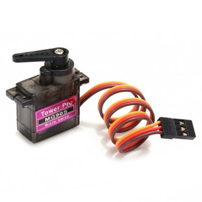 TowerPro MG90S Metal Gear RC Micro Servo for RC Model Accessories - 4 PcsMulti Rotor Parts<br>TowerPro MG90S Metal Gear RC Micro Servo for RC Model Accessories - 4 Pcs<br><br>Package Contents: 4 x MG90S Servo, 4 x Set of Servo Parts<br>Package size (L x W x H): 15.00 x 10.00 x 8.00 cm / 5.91 x 3.94 x 3.15 inches<br>Package weight: 0.2700 kg<br>Type: Servo, DIY Accessories