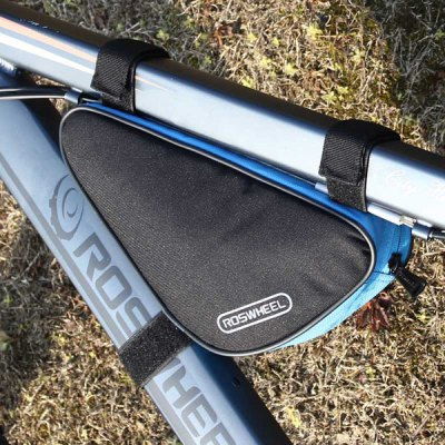 Roswheel 12657 1.5L Outdoor Triangle Cycling Bicycle Front Tube Frame Bag