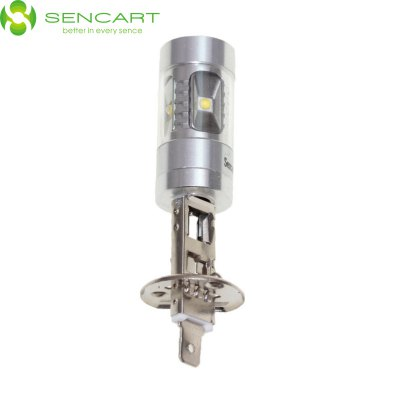 Sencart H1 P14.5S 30W Cree XP - E 6 LEDs 2200LM White LED Car Fog Light High / Low Beam Lamp ( 12 - 24V )LED Bi-pin Lights<br>Sencart H1 P14.5S 30W Cree XP - E 6 LEDs 2200LM White LED Car Fog Light High / Low Beam Lamp ( 12 - 24V )<br><br>Available Light Color: Red,Yellow,Cold White<br>Brand: Sencart<br>Car light type: Fog Light, Daytime Running Light, High / Low Beam Lamp, Headlamp<br>CCT/Wavelength: 6000K,560-590nm,635-700nm<br>Connector: H1<br>Features: Spotlight, High Output, Low Power Consumption<br>Luminous Flux: 2200LM<br>Package Contents: 1 x H1 6000K Cree XP - E LED Car Bulb<br>Package size (L x W x H): 12 x 5 x 5 cm / 4.72 x 1.97 x 1.97 inches<br>Package weight: 0.090 kg<br>Product size (L x W x H): 8 x 2.4 x 2.1 cm / 3.14 x 0.94 x 0.83 inches<br>Product weight: 0.020 kg<br>Sheathing Material: ABS<br>Voltage (V): AC/DC 12-24V<br>Wattage (W): 30