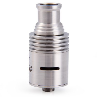 Original Dragon King Stainless Steel RDA Rebuildable E - Cigarette Atomizer Support Air Flow - 510 Thread