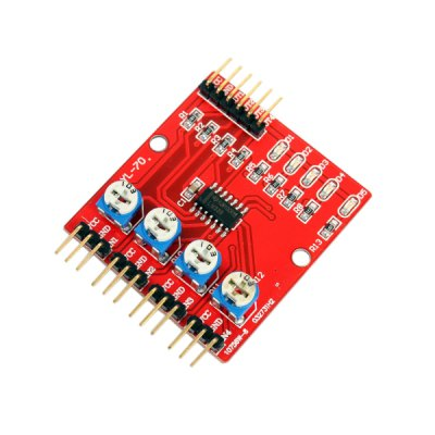 Smart Intelligent 4-Gate / Way Infrared Tracing / Tracking Module / Transmission Line Modules / Obstacle Avoidance / Car / Robotic Sensors