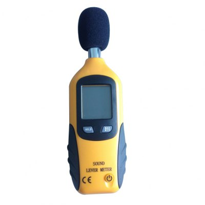 XINTEST HT-80A Mini Cute LCD screen Digital Noice Sound Level Meter Decibel Monitor