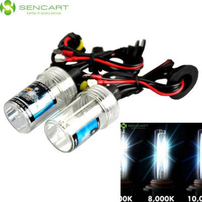 Sencart 9005 HB3 H10 P20D 35W 3300LM 8000K Cool White Light HID Xenon Car Headlamp DC 12V