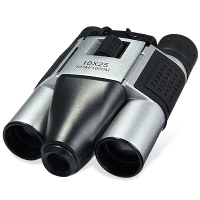 DT08 1.3MP COMS 10 x 25 Digital Camera Binoculars Long Distance Video Recording TelescopeBinoculars and Telescopes<br>DT08 1.3MP COMS 10 x 25 Digital Camera Binoculars Long Distance Video Recording Telescope<br><br>Amplification Factor: X10<br>Color: Multi-color<br>Field of view: 101m / 1000m<br>For: Hunting, Horse racing, Auto racing, Bird watching, Outdoor activities, Boating/Yachting, Beach<br>Objective Lens (mm) : 25mm<br>Package Contents: 1 x Digital Telescope, 1 x Data Cable, 1 x Clean Cloth, 1 x English - Chinese User Manual<br>Package size (L x W x H): 18.00 x 14.50 x 7.50 cm / 7.09 x 5.71 x 2.95 inches<br>Package weight: 0.430 kg<br>Product size (L x W x H): 13.50 x 9.50 x 4.00 cm / 5.31 x 3.74 x 1.57 inches<br>Product weight: 0.245 kg<br>Type: Binoculars