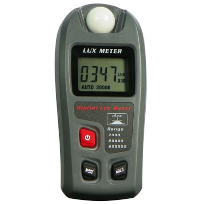 RZMT-30 Digital Lux Meter Illuminometer with Auto / Manual Range / Data Hold