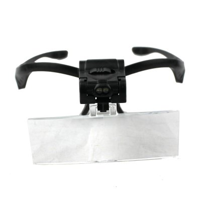 Multifunctional Wearing Plastic and PVC Material Lenses Magnifier