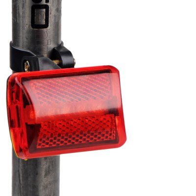 Bike Cycling Equipment Bicycle Riding 5 LED Night Rear LightBike Lights<br>Bike Cycling Equipment Bicycle Riding 5 LED Night Rear Light<br><br>LED Quantity: 5 LED<br>Material: ABS<br>Package Contents: 1 x Bicycle Taillight<br>Package Dimension: 10.00 x 7.00 x 4.00 cm / 3.94 x 2.76 x 1.57 inches<br>Placement: Saddle Tube<br>Product Dimension: 6.70 x 4.50 x 2.30 cm / 2.64 x 1.77 x 0.91 inches<br>Product weight: 0.035 kg<br>Suitable for: Road Bike, Mountain Bicycle<br>Type: Tail Light