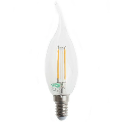 2Pcs Zweihnder W141 E14 4W 380Lm Edison Sapphire Filament Candle Bulb Warm White Tungsten Light ( 3000 - 3500K )Edison Bulbs<br>2Pcs Zweihnder W141 E14 4W 380Lm Edison Sapphire Filament Candle Bulb Warm White Tungsten Light ( 3000 - 3500K )<br><br>Angle: 360<br>Available Light Color: Warm White<br>Brand: Zweihnder<br>Bulb Base Type: E14<br>CCT/Wavelength: 3000-3500K<br>Features: Retro Edison Style<br>Function: Outdoor Lighting, Studio and Exhibition Lighting, Home Lighting<br>Lifespan: 50000 hrs<br>Luminous Flux: 380Lm<br>Output Power: 4W<br>Package Contents: 2 x Zweihnder W140 E14 4W 380Lm Tungsten Candle Light<br>Package size (L x W x H): 14 x 8 x 5 cm / 5.50 x 3.14 x 1.97 inches<br>Package weight: 0.070 kg<br>Product size (L x W x H): 12.9 x 3.5 x 3.5 cm / 5.07 x 1.38 x 1.38 inches<br>Product weight: 0.030 kg<br>Rated Luminous Flux: 400Lm<br>Sheathing Material: Glass<br>Type: Candle Bulbs<br>Voltage (V): AC 220-240