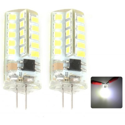 Zweihnder G4 4W 380Lm 40 x SMD 2835 LED Corn Light Water Resistant ( 5500 - 6000K 2Pcs )