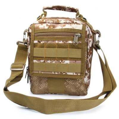 Durable Nylong Army Tactical Handbag 3.5L Single Shoulder Bag