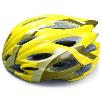CTSmart Durable Cycling Helmet Bicycle AccessoryBike Helmets<br>CTSmart Durable Cycling Helmet Bicycle Accessory<br><br> Product weight: 0.242 kg<br>Brand: CTSmart<br>Color: White,Blue,Yellow<br>Condition: 100% New<br>For: Unisex<br>Material: EPS + PC<br>Package Contents: 1 x Cycling Helmet<br>Package size (L x W x H): 29.0 x 24.0 x 15.0 cm / 11.40 x 9.43 x 5.90 inches<br>Package weight: 0.267 kg<br>Product size (L x W x H): 27.0 x 22.0 x 13.0 cm / 10.61 x 8.65 x 5.11 inches<br>Suitable for: Road Bike, Mountain Bicycle, Motorbike, Bike, Electrombile<br>Type: Cycling Helmet