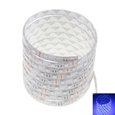 SENCART 300 x SMD - 5050 LED Waterproof Blue Light LED Home Party Strip LightLED Strips<br>SENCART 300 x SMD - 5050 LED Waterproof Blue Light LED Home Party Strip Light<br><br>Actual Lumens: 3600<br>Brand: Sencart<br>Chip Brand: Epistar<br>Connector Type: Wired<br>Features: Cuttable, Remote Control, Low Power Consumption, Waterproof, IP-68<br>Input Voltage: DC12<br>Length: 5<br>Material: Silicone, FPC<br>Number of LEDs: 300<br>Optional Light Color: Pink,Red,Blue,Green,Purple,Yellow,Warm White,Cold White,RGB,Neutral White<br>Package Contents: 1 x  5M 5050 LED Strip Light<br>Package size (L x W x H): 12 x 4 x 3 cm / 4.72 x 1.57 x 1.18 inches<br>Package weight: 0.190 kg<br>Product size (L x W x H): 500 x 1 x 0.3 cm / 196.50 x 0.39 x 0.12 inches<br>Product weight: 0.120 kg<br>Theoretical Lumens: 4800