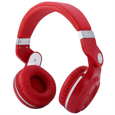 Bluedio T2+ Wireless Bluetooth V4.1 Stereo Headphones with Micrphone Headset Support TF Card FM Function