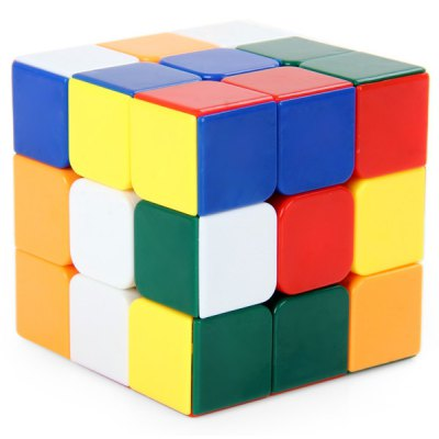 Shengshou 7121A - 1 3x3x3 Magic Cube Brain Teaser Educational Toy ( Three Layers )