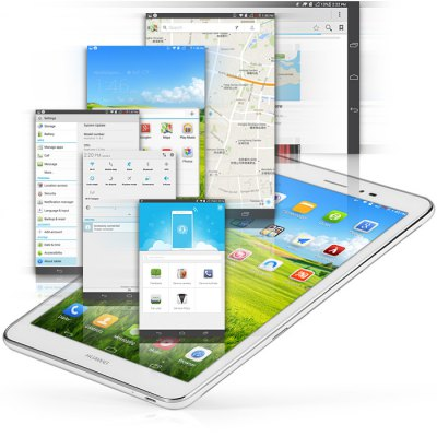 HUAWEI MediaPad T1 S8 - 701u Android 4.3 8 inch 3G Tablet PC Snapdragon MSM8212 Quad Core 1.2GHz 8GB ROM