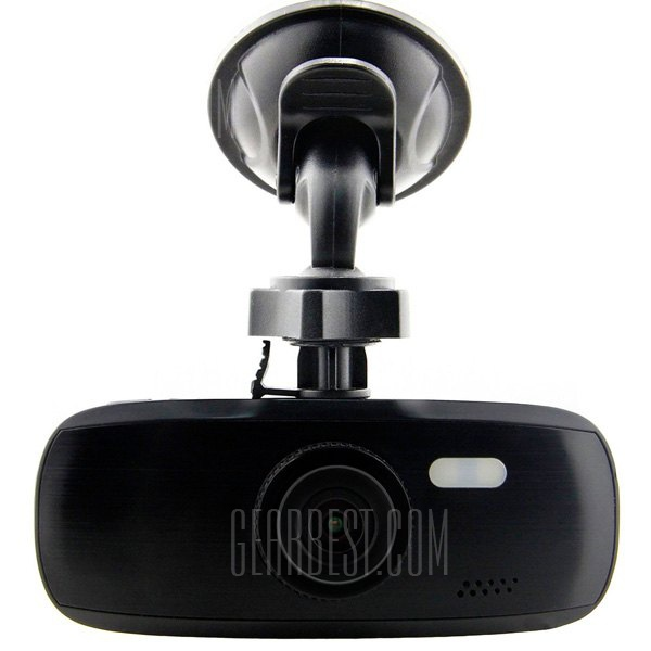 G1W-CB Full Black 2.7 inch 1080P Full HD Car DVR 4X Digital Zoom Video Recorder 120 Degree Wide Angle Lens with Charger Safe Capacitor
