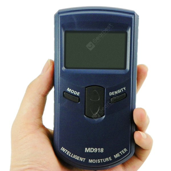 Md918 digital 2 2 lcd inductie hout vocht tester dark blue for Hardwood floors low humidity