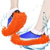 Chenille Mopping Slippers Quick Home Pair Floor Polishing Dusting Practical Cleaning Shoes deal