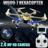 HUAJUN W609  -  7 5.8G FPV Pathfinder 2 6 Axis Gyro 4.5CH 2.4G RC Hexacopter with 2.0MP HD Camera 3D Eversion Aircraft - US Plug deal