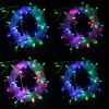 220V 6.5W 10M Flash 100-LEDs RGB Light Christmas LED Strip Light Lamp ( EU Plug )