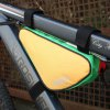 Buy Roswheel 12657 1.5L Outdoor Triangle Cycling Bicycle Front Tube Frame Bag GREEN
