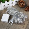 cheap 1.5 x 1.5M 120 LEDs Net String Light Fairy Curtain Rope Lamp for Outdoor Festival Party Decoration ( Cool White EU Plug )