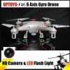 GPTOYS F2C Aviax 3D Eversion Headless Mode 2.4GHz 4CH LCD RC Quadcopter with 2.0MP HD Camera