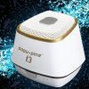 Buy PopuPine i3 Bluetooth Speaker Speakerphone / AUX Audio Input Rechargeable Battery iPhone 6S Plus 6 Bluetooth-enabled Devices WHITE
