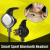 cheap Morul U5 Plus Waterproof IPX7 Earphone Handsfree Wireless Bluetooth Version 4.1 Sports Headset with NFC Connection Mic Stereo Earphone