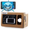 iBlue DIY Cardboard 3D VR Glasses Smart Phone 3D Private Theater with Magnetic Sensor Support NFC for 3.5 - 5.5 inches Smartphone 11027