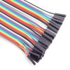 40-Pin F - F Rainbow Dupont Cable Female to Female Jumper Wire for Arduino deal