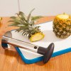Practical Stainless Steel Fruit Pineapple Slicer Peeler Creative Kitchen Tool - COLORMIX