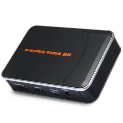 HD Video Game Capture 1080P HDMI YPBPR One Click Recorder for Xbox 360 / One PS3 PS4
