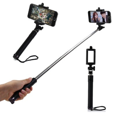 Bluetooth Wireless Selfie Monopod with Phone Holder