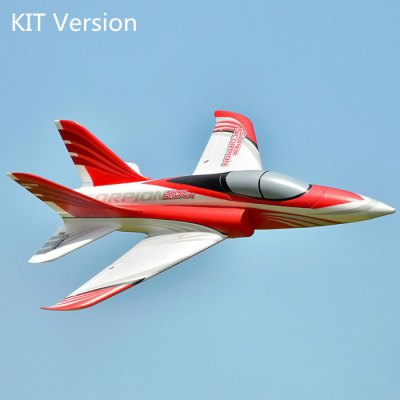 FMS Double Vertical Tail Ducted Fan EPO Material Racing RC Airplane KIT Version