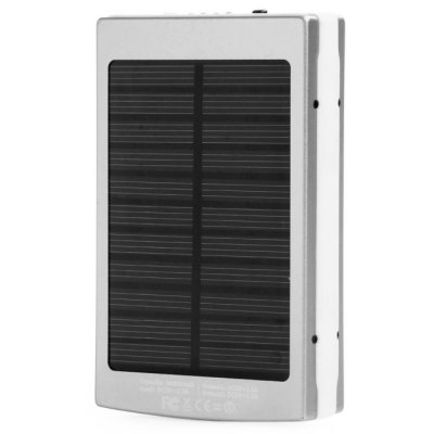 Гаджет   2 in 1 30000mAh Mobile Power Bank Solar Charger Camping Light iPhone Power Bank